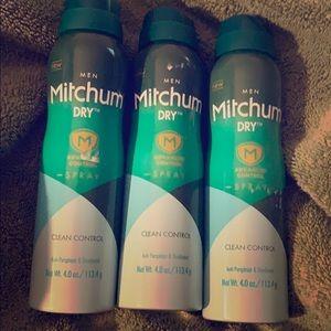 Mitchum men's deodorant spray - advanced control